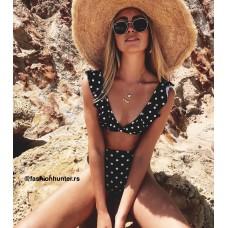 La vida loca kupaći kostim- Crni